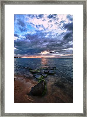 Great South Bay Framed Print by Rick Berk