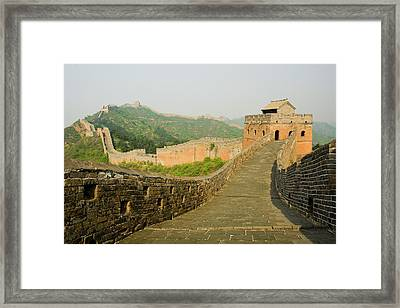 Great Wall Of China Framed Print by Celso Mollo Photography