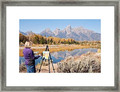 Great Workplace Framed Print by Bob and Nancy Kendrick