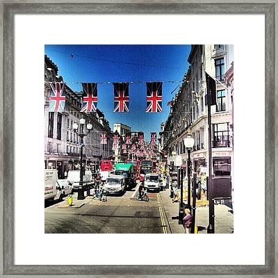 #greatbritin #jubile #britin #england Framed Print