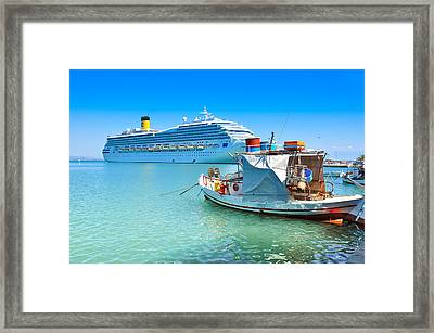 Greece 1 Framed Print