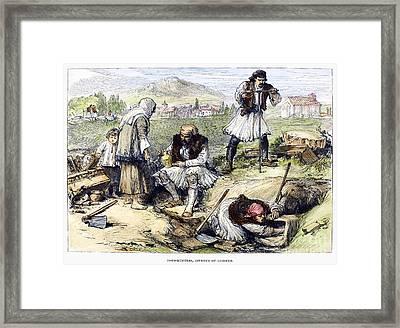 Greece: Grave Robbers Framed Print
