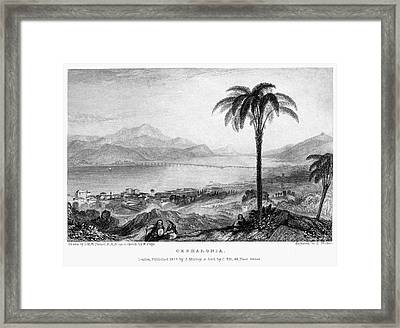 Greece: Kefalonia, 1833 Framed Print by Granger