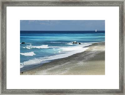Greece, Lefkas Framed Print by Axiom Photographic