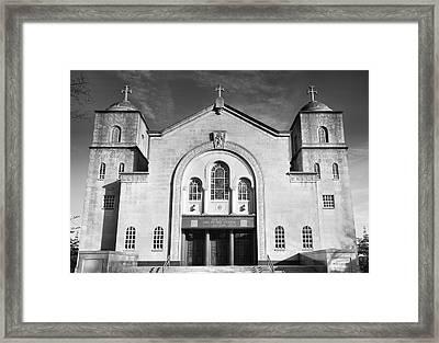Greek Orthodox Church I Framed Print by Steven Ainsworth