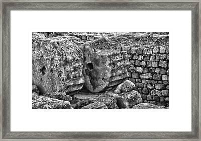 Greek Ruins  Framed Print by Thomas Kessler