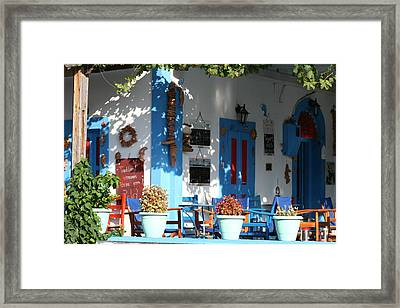 Greek Tavern  Framed Print by Andrei Fried