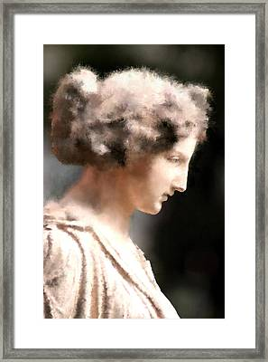 Greek Woman Framed Print