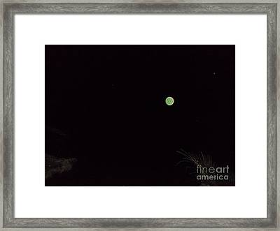Green And Serene Framed Print by Doug Kean