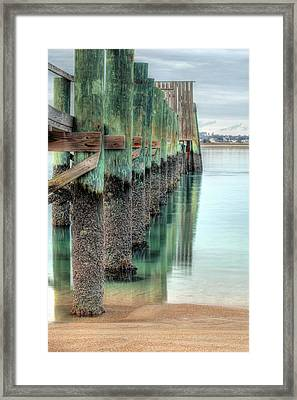 Green Day Framed Print by JC Findley