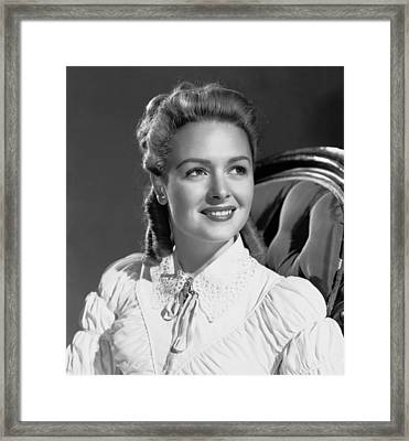 Green Dolphin Street, Donna Reed, 1947 Framed Print by Everett