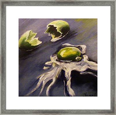 Green Eggs No Ham Framed Print