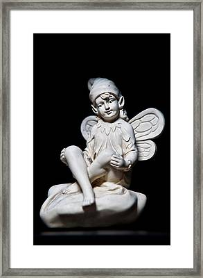 Green Eyed Fairy Framed Print by Christopher Holmes