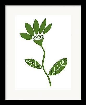 Green-thumb Drawings Framed Prints