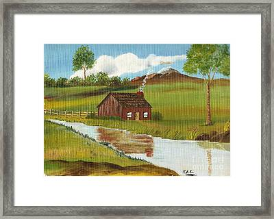Green Grass Of Home Framed Print