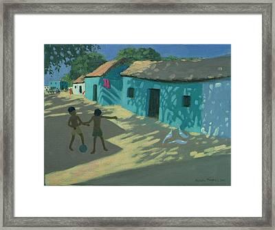 Green House Framed Print