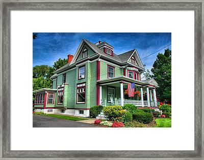 Green House Framed Print by Steven Ainsworth