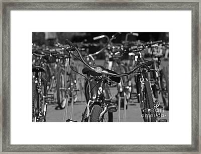 Green Power Framed Print by David Taylor