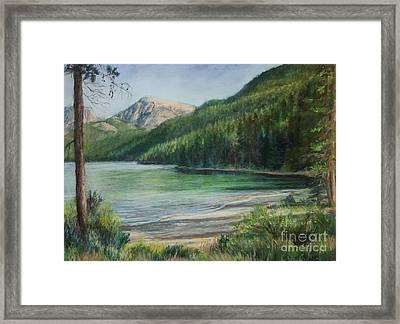 Green River Lake Framed Print