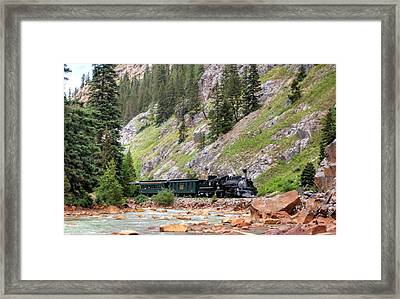 Green Special Home Framed Print by Ken Smith