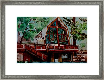 Green Valley Lake Church Framed Print