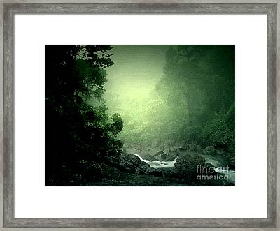 Green Vally Framed Print