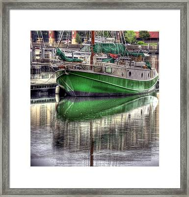 Green With Envy Framed Print by Brian Fisher