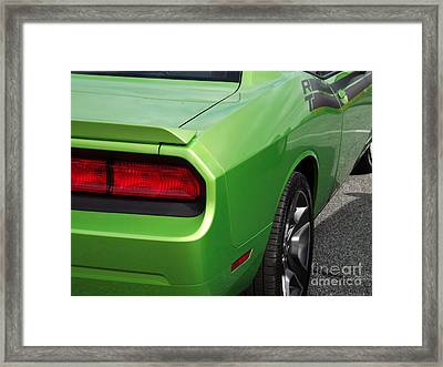 Green With Envy Framed Print by Chad Thompson
