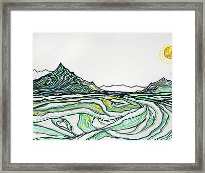 Greenies Framed Print by Stephanie Meyer