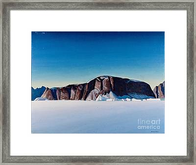 Greenland Coast Framed Print by Kent Rockwell