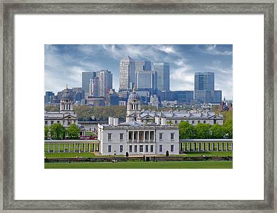 Framed Print featuring the photograph Greenwich by Rod Jones