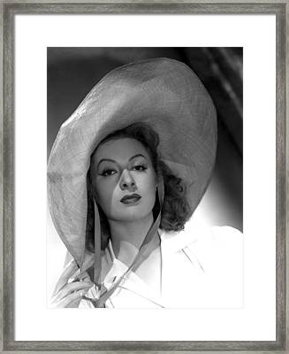Greer Garson, 1941 Framed Print by Everett