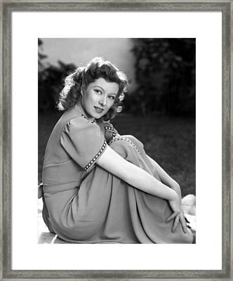 Greer Garson, 1942 Framed Print by Everett