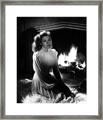 Greer Garson, 1943 Framed Print by Everett
