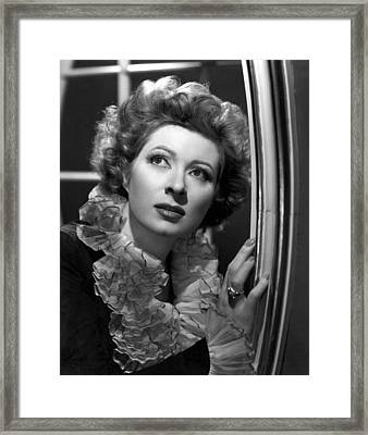 Greer Garson, 1945 Framed Print by Everett