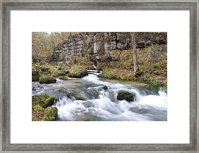 Greer Spring Fall 1 Framed Print by Marty Koch