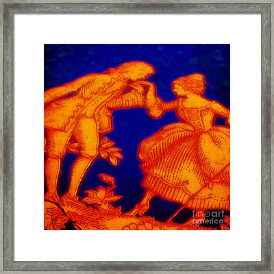 Greetings From Limoges Framed Print