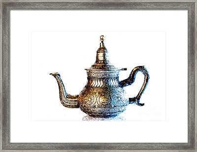 Greetings From Morocco Framed Print by Sabine Jacobs