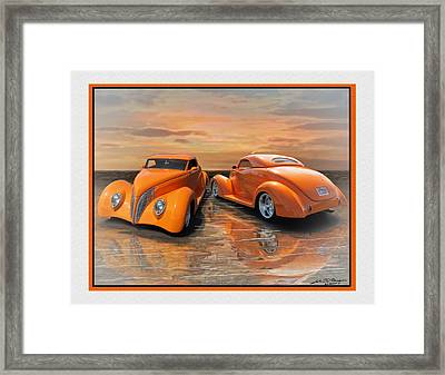 Gregs 39 Ford Framed Print
