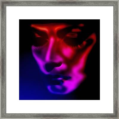 Greta Framed Print by Steve K