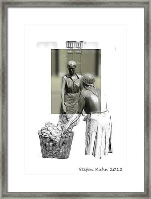 Grey Times Framed Print