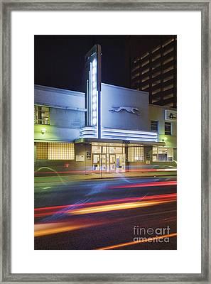 Greyhound Bus Station Framed Print by Jeremy Woodhouse