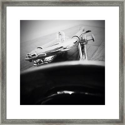 #grey_matter #grey_society #bwoftheday Framed Print