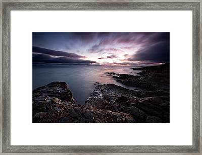 Greystones Dawn Framed Print