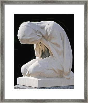Grief Framed Print by Kent Sorensen