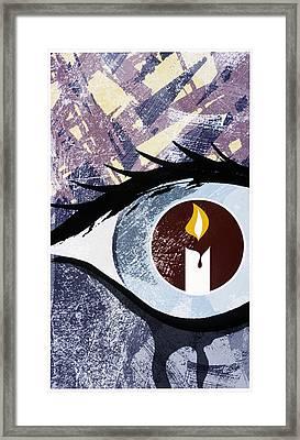 Grief Framed Print by Paul Brown