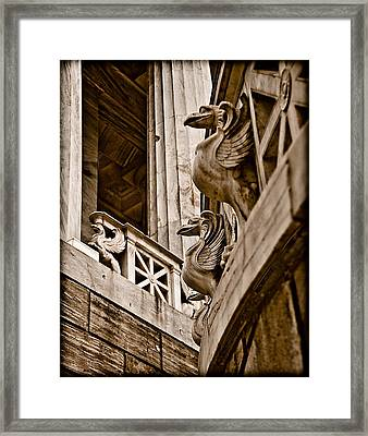 Athens, Greece - Griffen Watch Framed Print