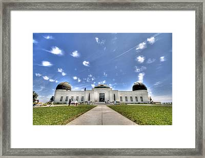 Griffith Observatory 2 Framed Print by Jessica Velasco