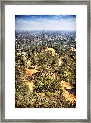 Griffith Park Framed Print by Jessica Velasco