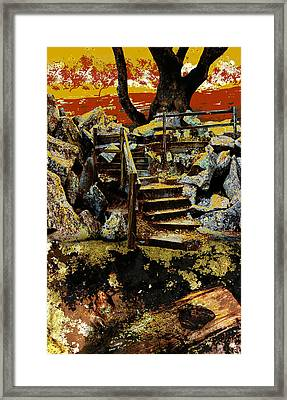 Griffith Quarry 3 Framed Print